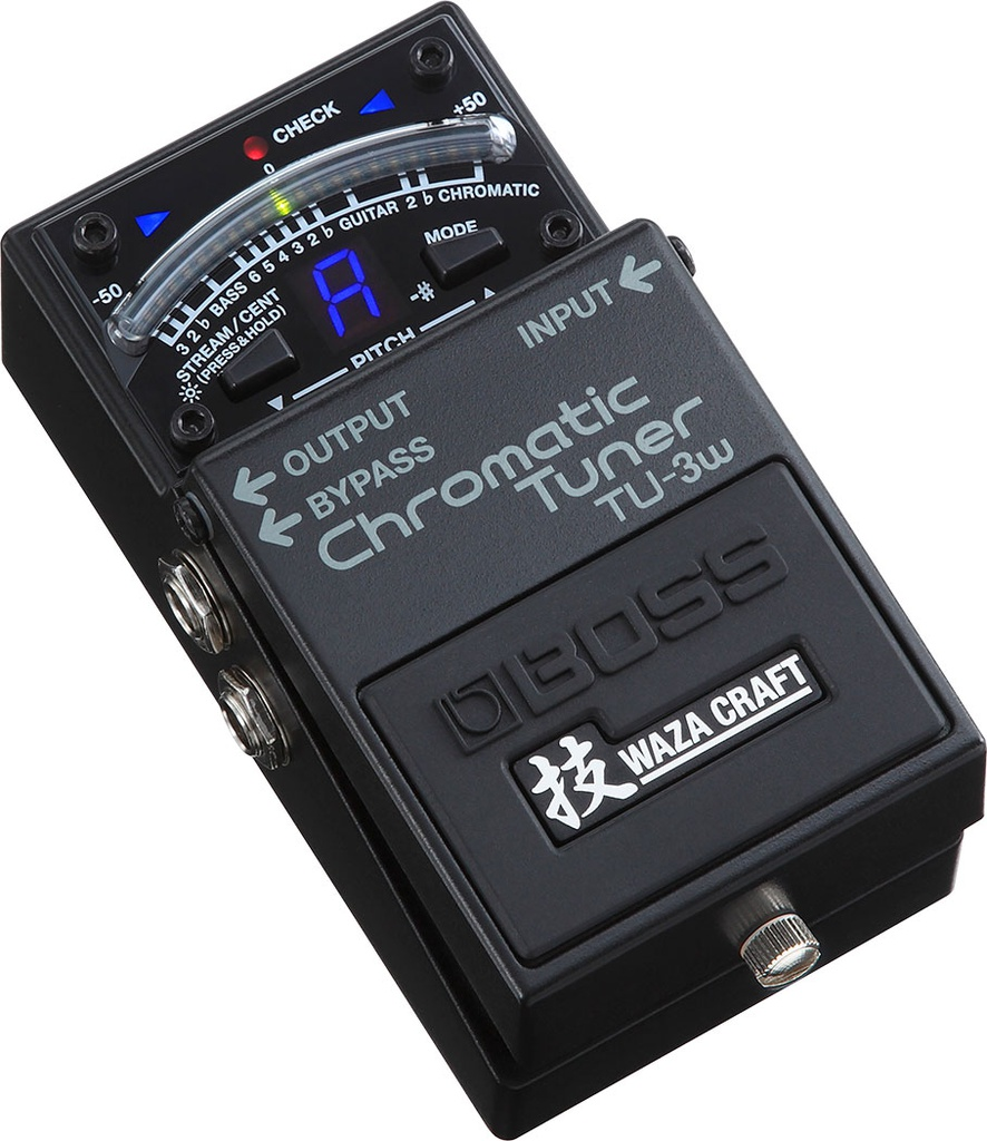Pédale Boss Chromatic Tuner Waza Craft TU-3w