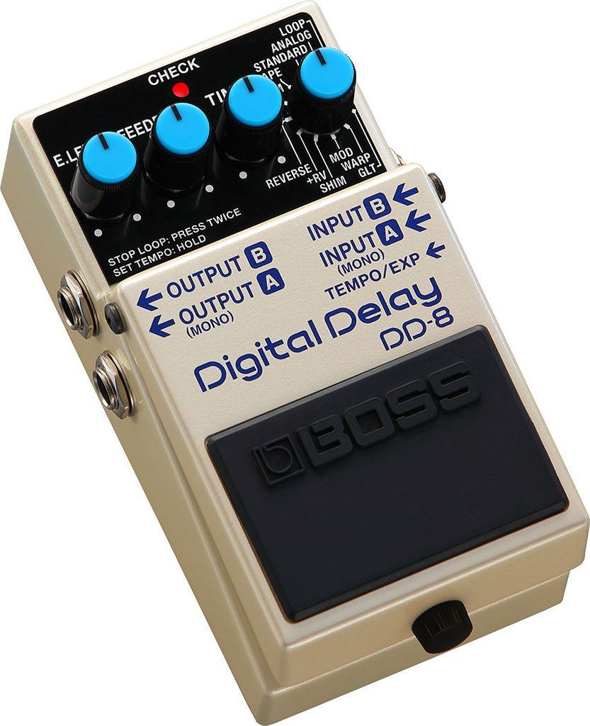 Pédale Boss Digital Delay DD-8