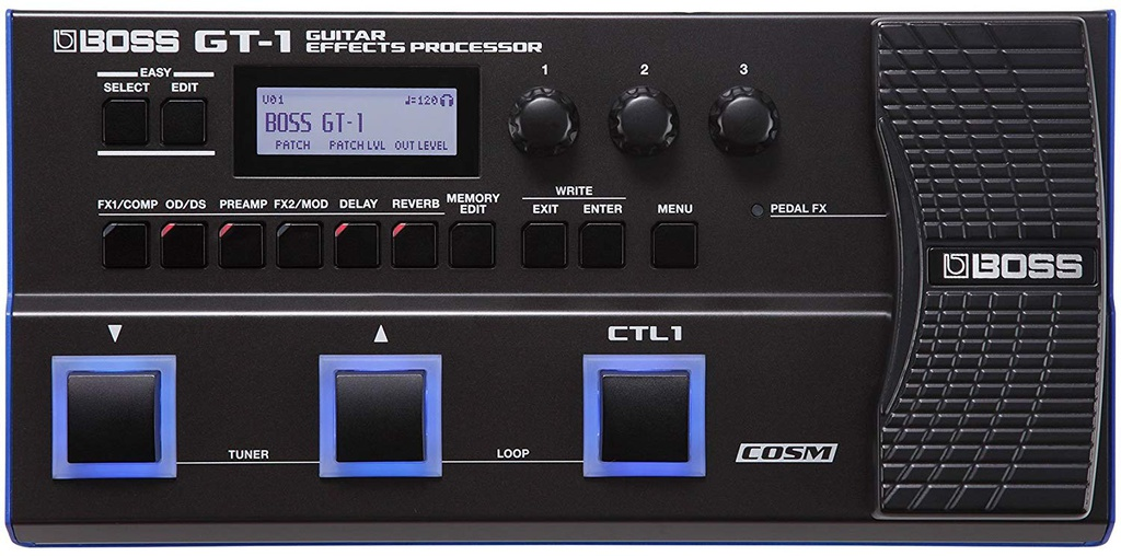 Pédale Multi-Effets Boss Guitar Effects Processor GT-1