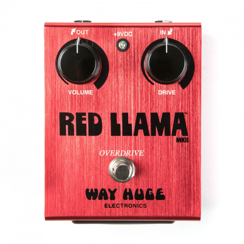 Pédale Way Huge Red Llama WHE203