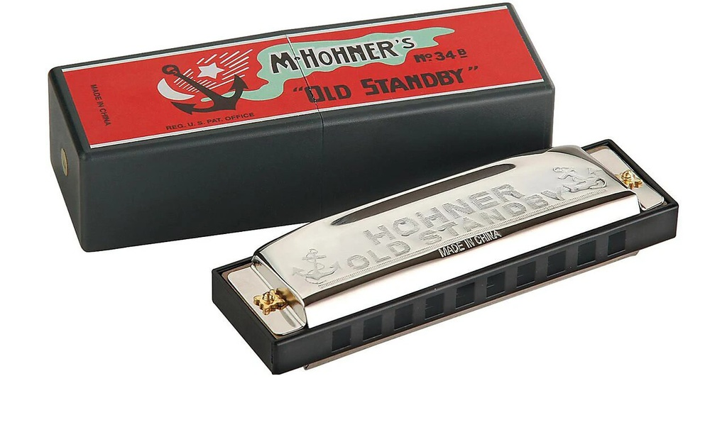 Harmonica Hohner Old Standby G / Sol Majeur