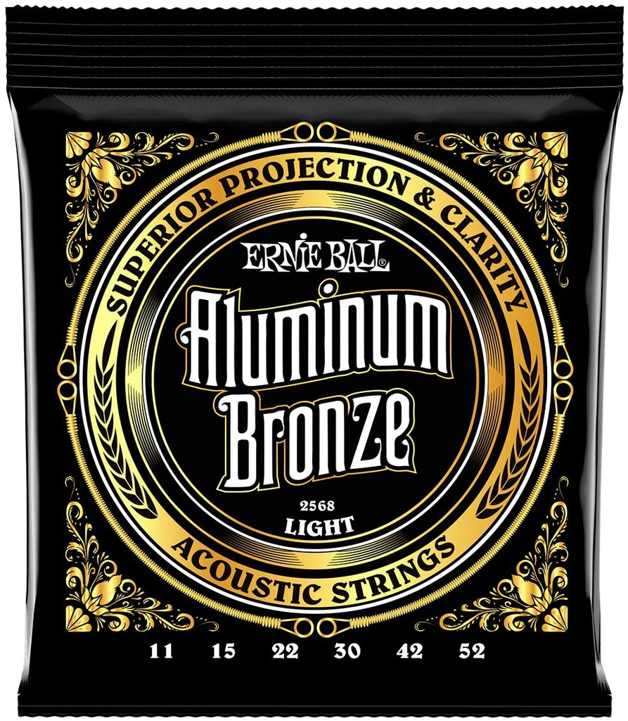 Cordes Guitare Acoustique Ernie Ball Aluminium Bronze 11-52