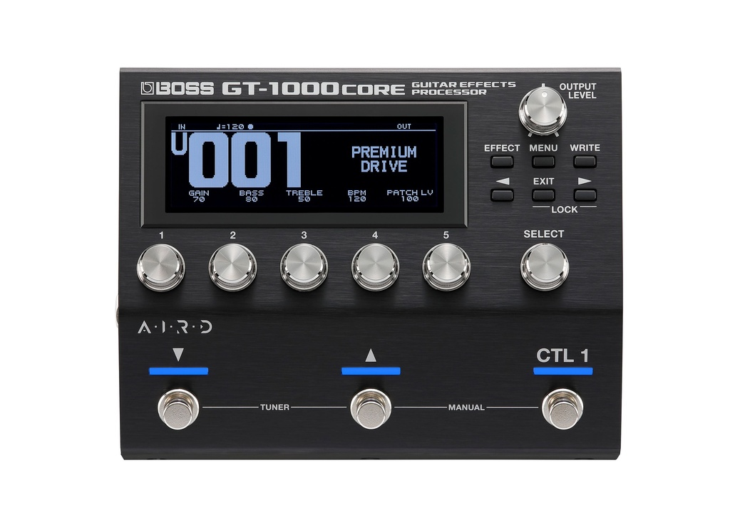 Pédale Multi-Effets Boss Guitar Effects Processor GT-1000CORE