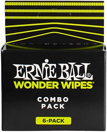 Ensemble d'entretien Ernie Ball Wonder Wipes