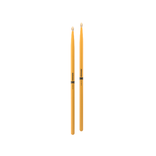 [TX5AW-YELLOW] Baguettes Promark Hickory 5A Yellow TX5AW-YELLOW