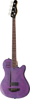 [041695] Basse Électrique Godin A4 Ultra Fretted RN Metallica Limited Edition Trans Purple