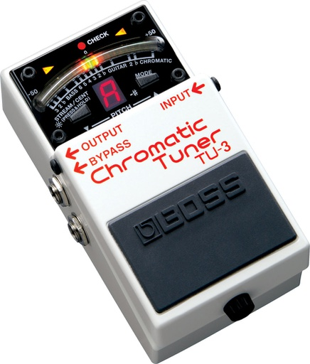 Pédale Boss Chromatic Tuner TU-3