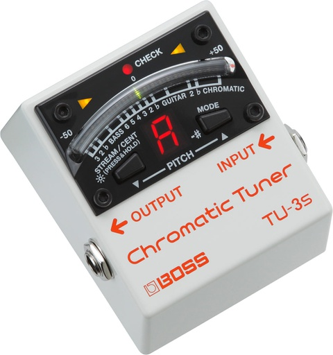 Pédale Boss Chromatic Tuner Mini TU-3S
