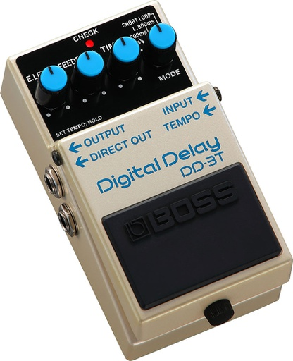 Pédale Boss Digital Delay Tap Tempo DD-3T