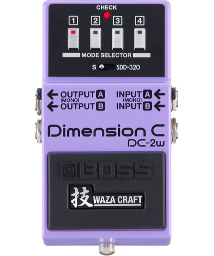 Pédale Boss Dimension C Waza Craft DC-2w