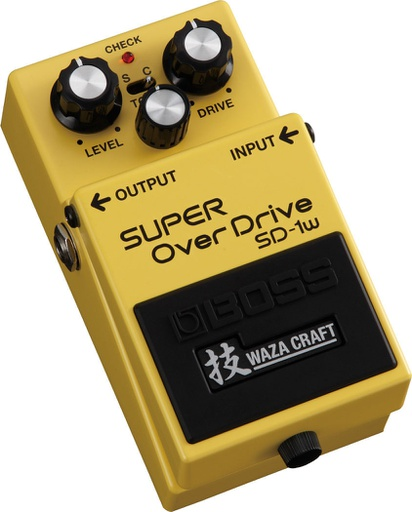 Pédale Boss Super Overdrive Waza Craft SD-1w