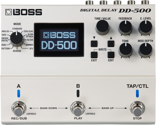 Pédale Boss Digital Delay DD-500