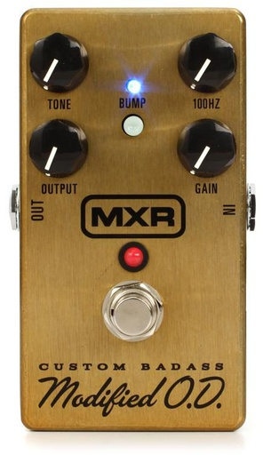 Pédale MXR Custom Badass Modified O.D. M77