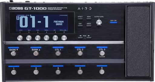 [GT-1000] Pédale Multi-Effets Boss Guitar Effects Processor GT-1000