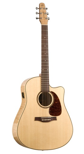 [032464] Guitare Acoustique Seagull Perfomer Cutaway QIT Flame Maple