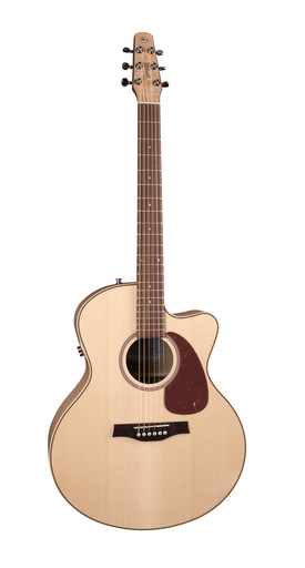 Guitare Acoustique Seagull Performer MJ Cutaway QIT Flame Maple