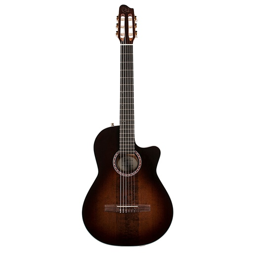 [049615] Guitare Classique Godin Arena Pro Cuteway Dual Source EQ Bourbon Burst