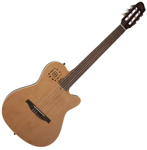 [035045] Guitare Électrique Godin Multiac Nylon Encore Natural SG