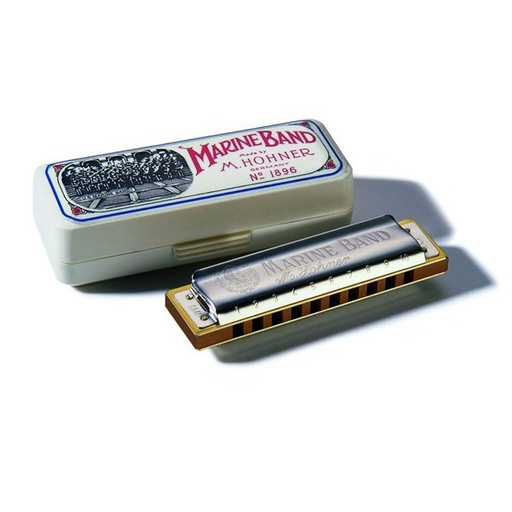 [1896BX-G] Harmonica Hohner Marine Band G / Sol Majeur