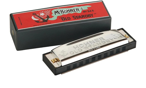 [34B-BX-G] Harmonica Hohner Old Standby G / Sol Majeur