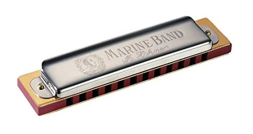 [364-C] Harmonica Hohner Marine Band 12 trous C / Do Majeur