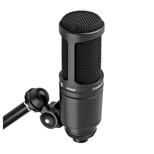 [AT2020] Microphone Studio Audio-Technica AT2020