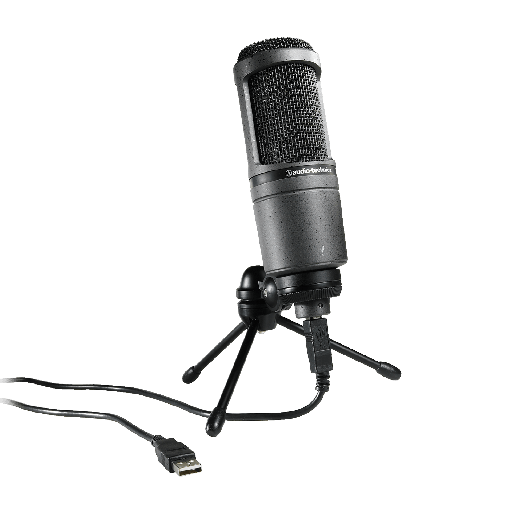 [AT2020USB-PLUS] Microphone Studio Audio-Technica AT2020USB-PLUS