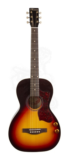 Guitare Acoustique Norman B18 Parlor GT Q-Disctrete Cherry Burst